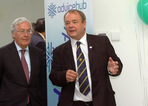 Welcoming Sir Mervyn King to the new Cambridge CAB