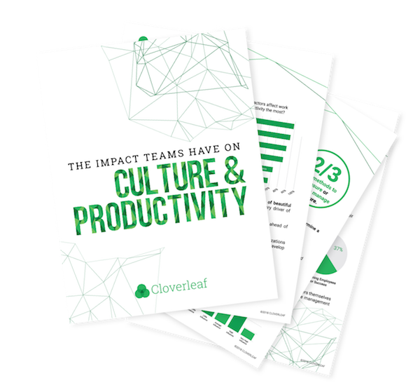 OUR 2018 culture & Productivity report   -