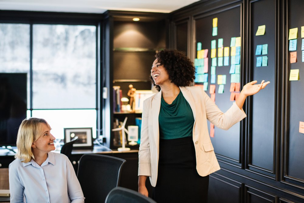 Guided by a coach. - Cloverleaf will connect your team with a certified business consulting coach to guide you through transformation. Let us know how often and to what capacity you would like the coach involved and we will tailor this to fit your needs.