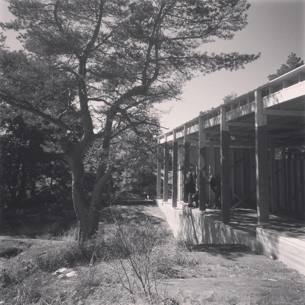 08/2016 - Befaring hytte Risør.