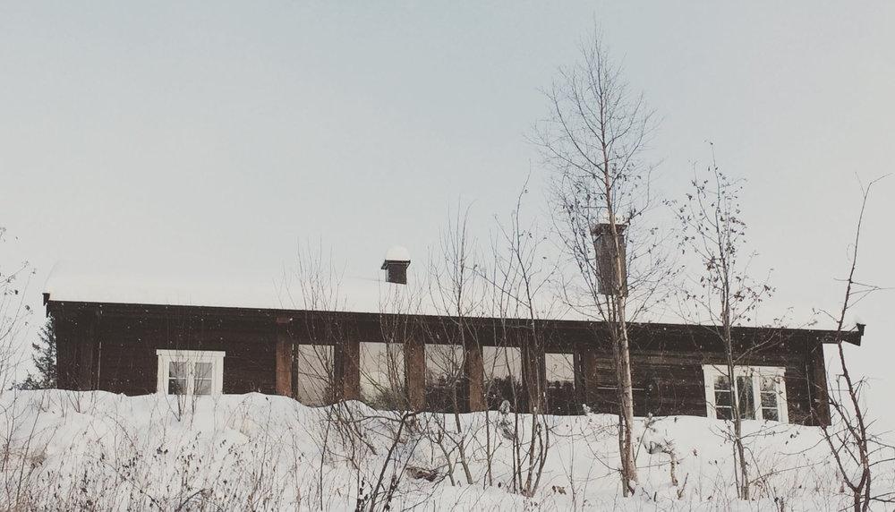 11/2016 - Befaring hytte Eggedal