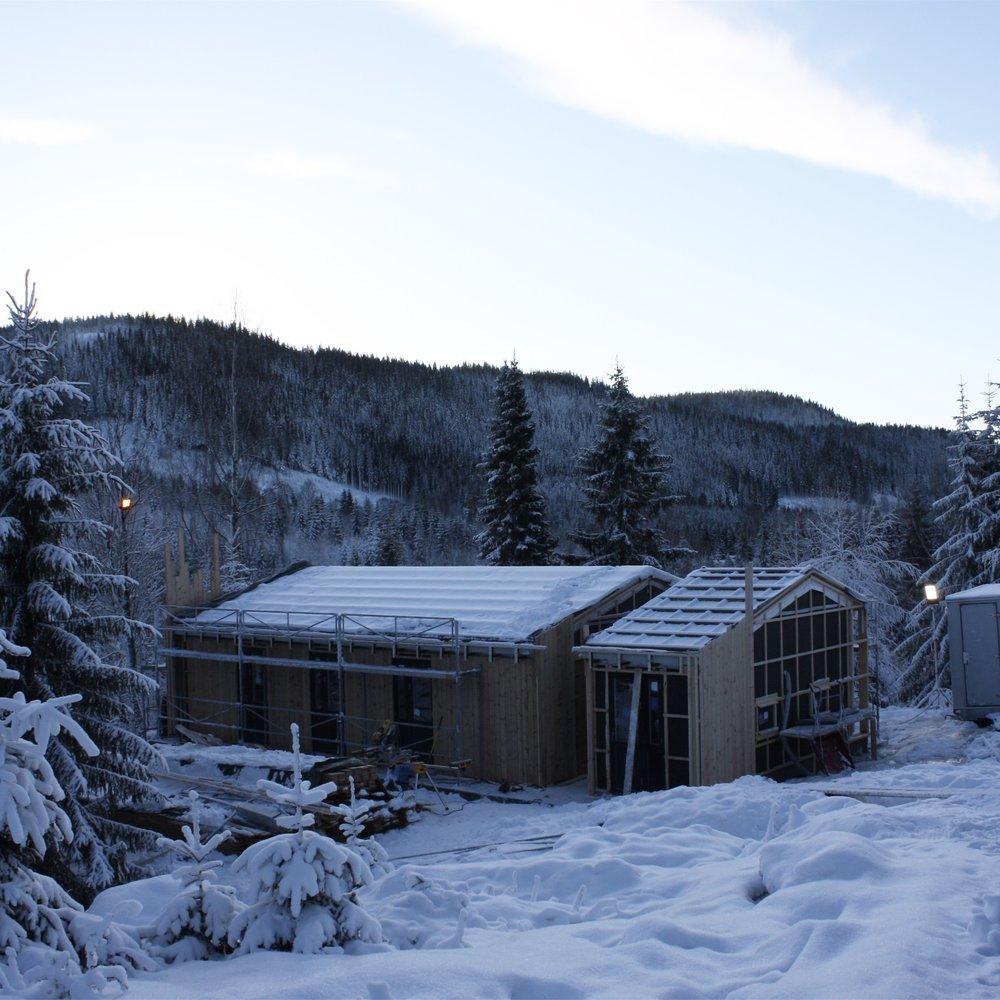 1/2017 - Befaring hytte Damtjern