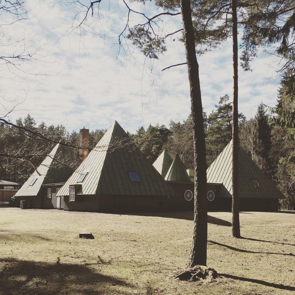 3/2017 - Studietur til Stockholm - skogskirkegården av Asplund