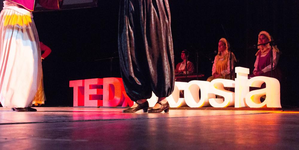 performanes at TEDx Nicosia 2016