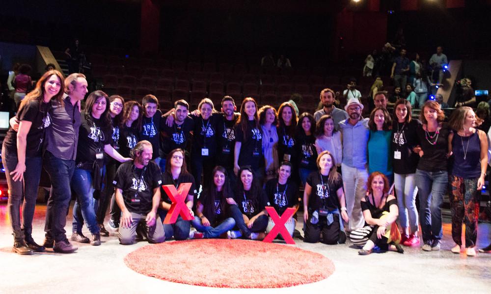 the TEDx Nicosia 2016 team