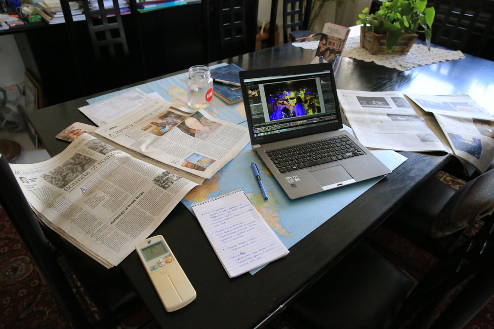 Planning & editing a draft article
