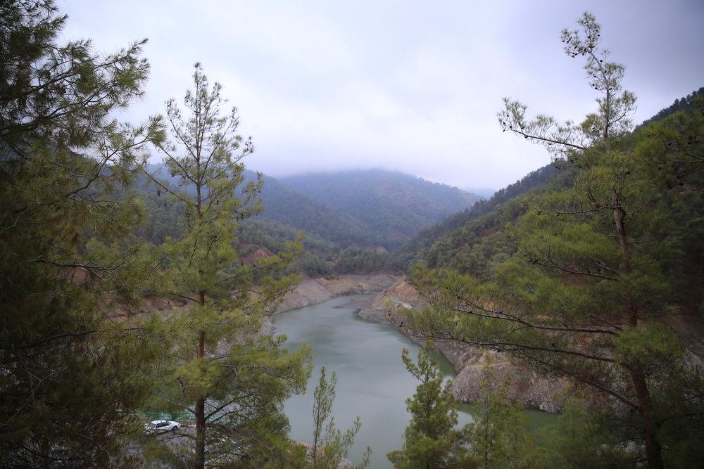 Xyliatou Dam.
