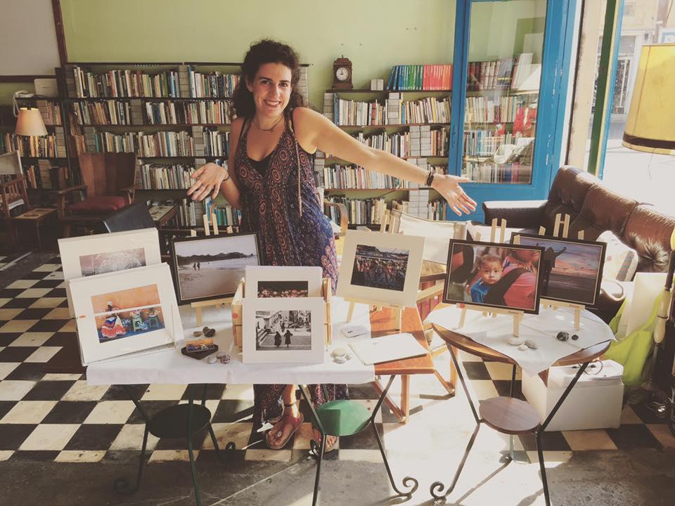 "At the ""Did It Myself"" arts bazaar at Ifanturgio."
