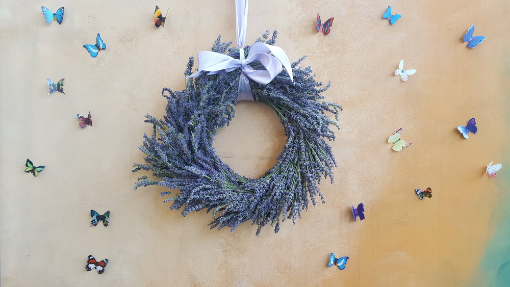 Make your own lavender crown or dream catcher during the festival| © CyHerbia