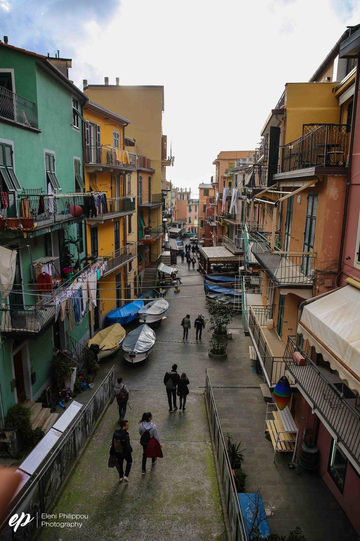 Reaching the Insta-famous Cinque Terre