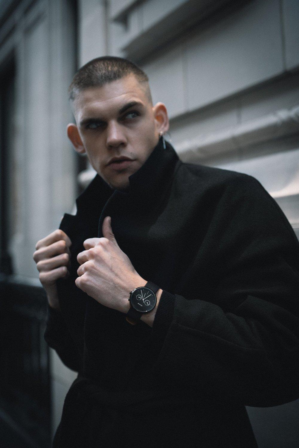 'Time Killer' - GreyHours Stylist & Model