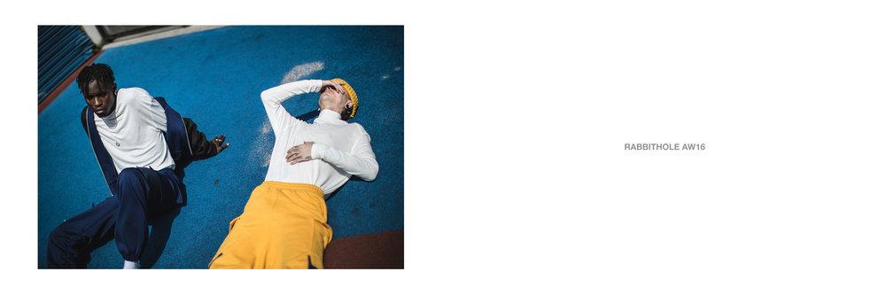 Rabbithole AW16 Editorial    Stylist - Thibault Maas   Photographer - Nathan Sam Long