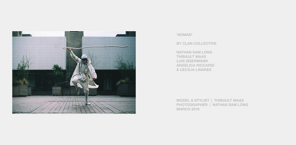 'Nomad' Lookbook