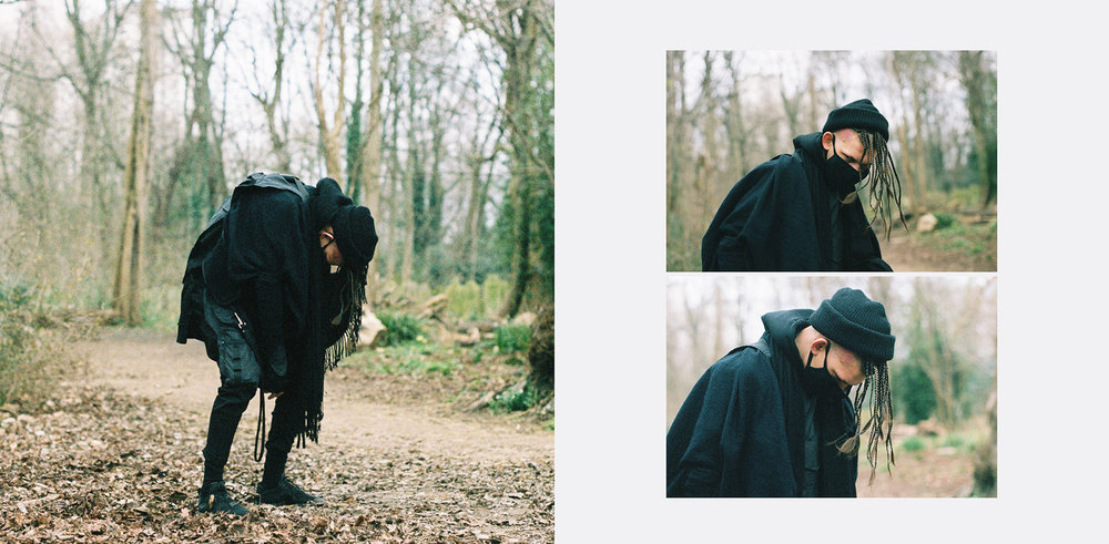 'Nomad' Lookbook Fashion Director and Stylist