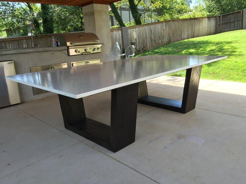Merveilleux Concrete Ping Pong Table