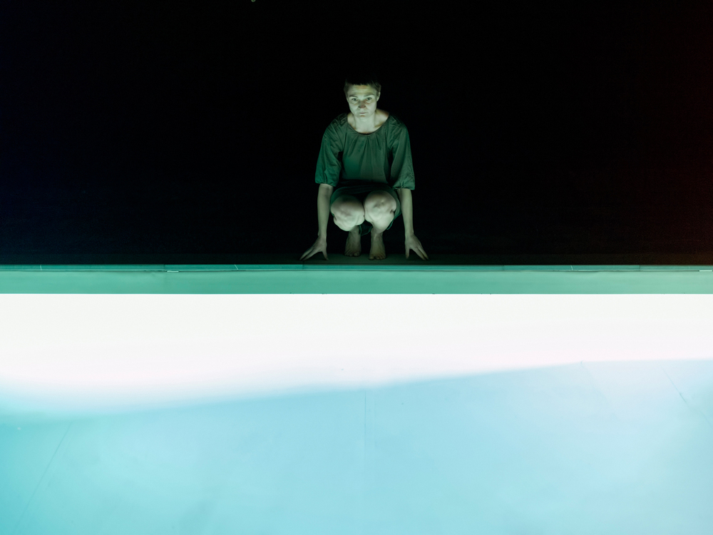 Pool, Night