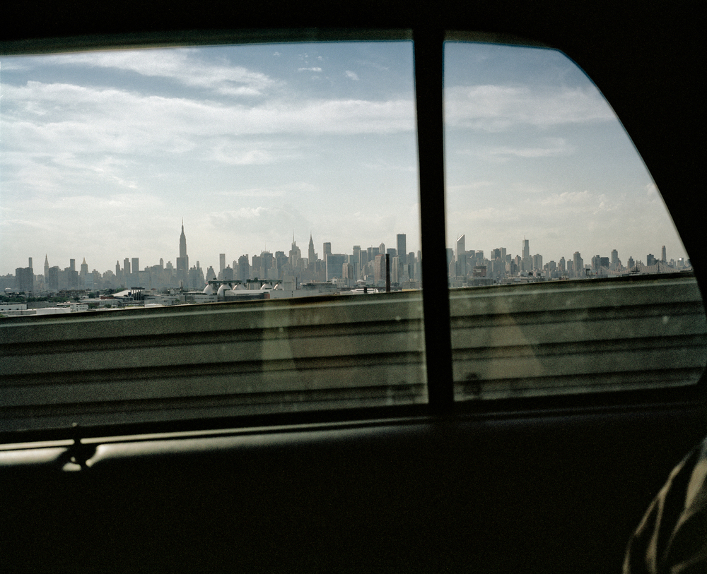 Manhattan Car Window