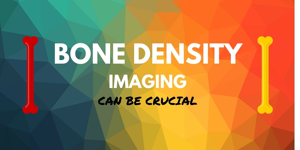 Bone density imaging can be crucial