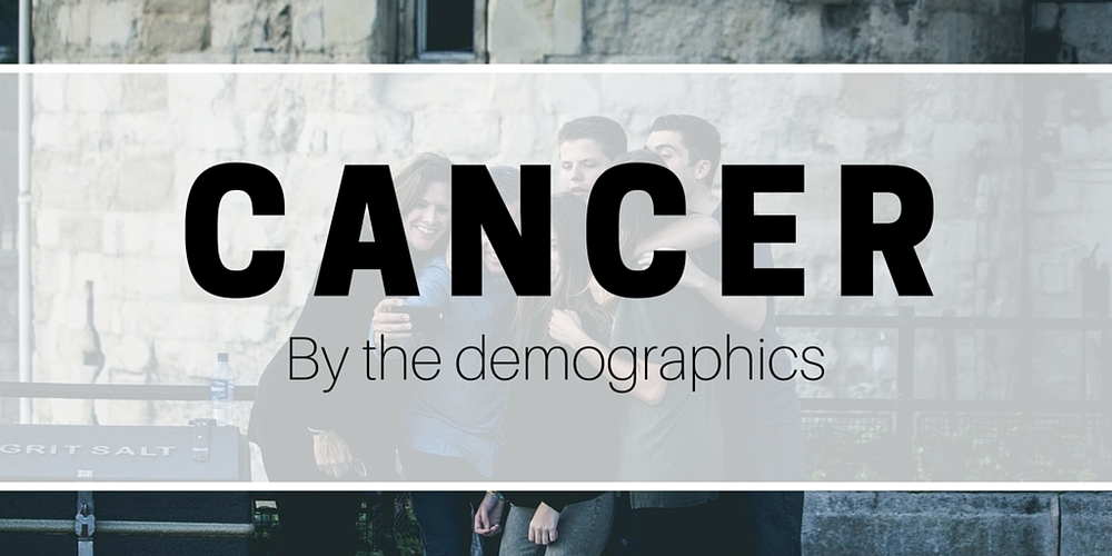 Cancer Diagnosis by the Demographics