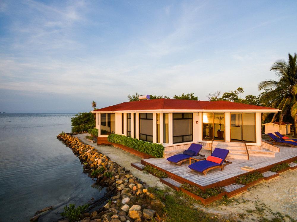 royal belize private island rental