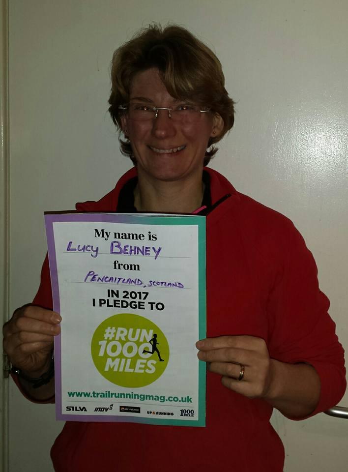#Run1000Miler Lucy Behney