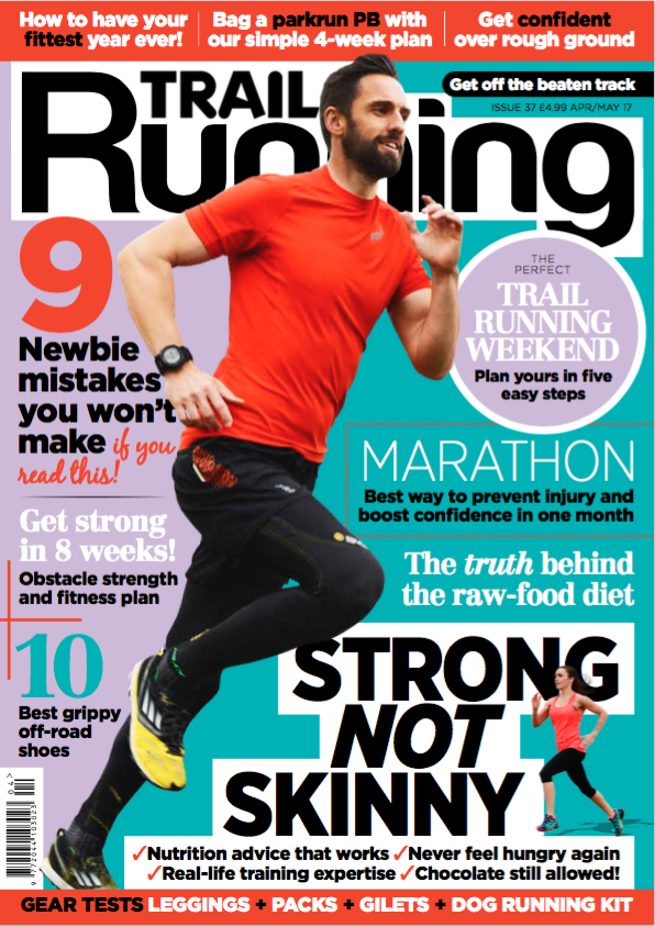 Click the pic to subscribe to Trail Running mag