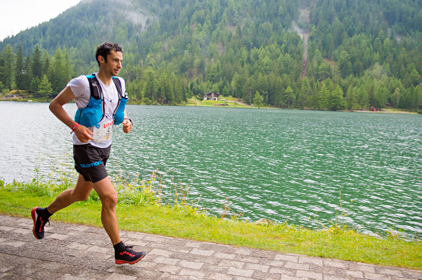 Kilian Jornet, who was runner-up in the UTMB in a time of 19 hours 16 minutes 38 seconds (photo: Pascal Tournaire)