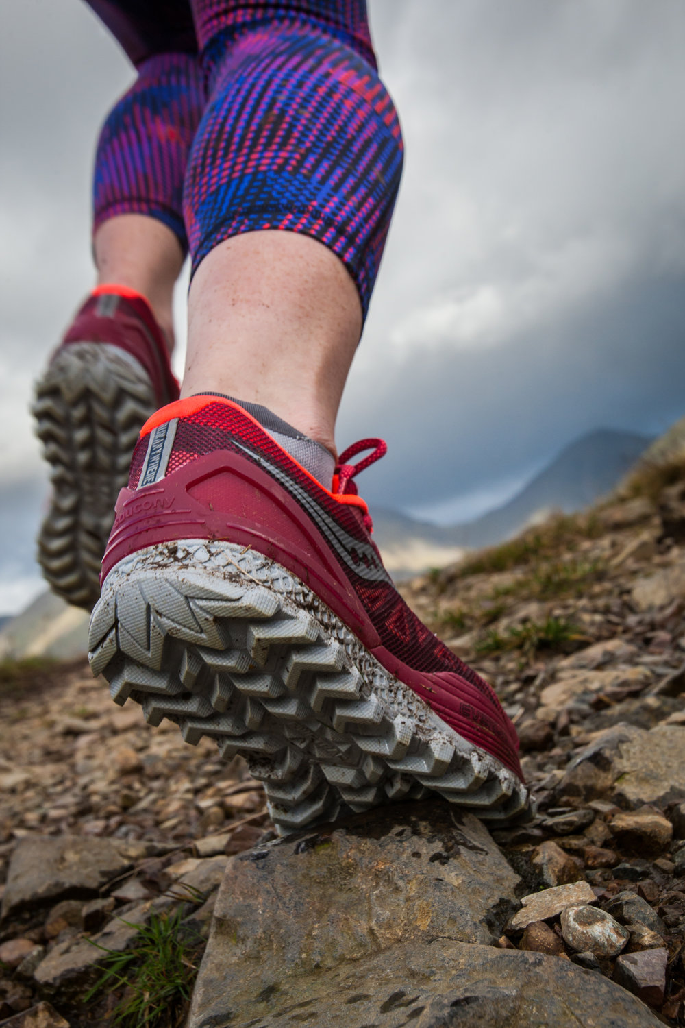The Saucony Koa ST put through its paces in the Lake District (copyright:Dave MacFarlane)