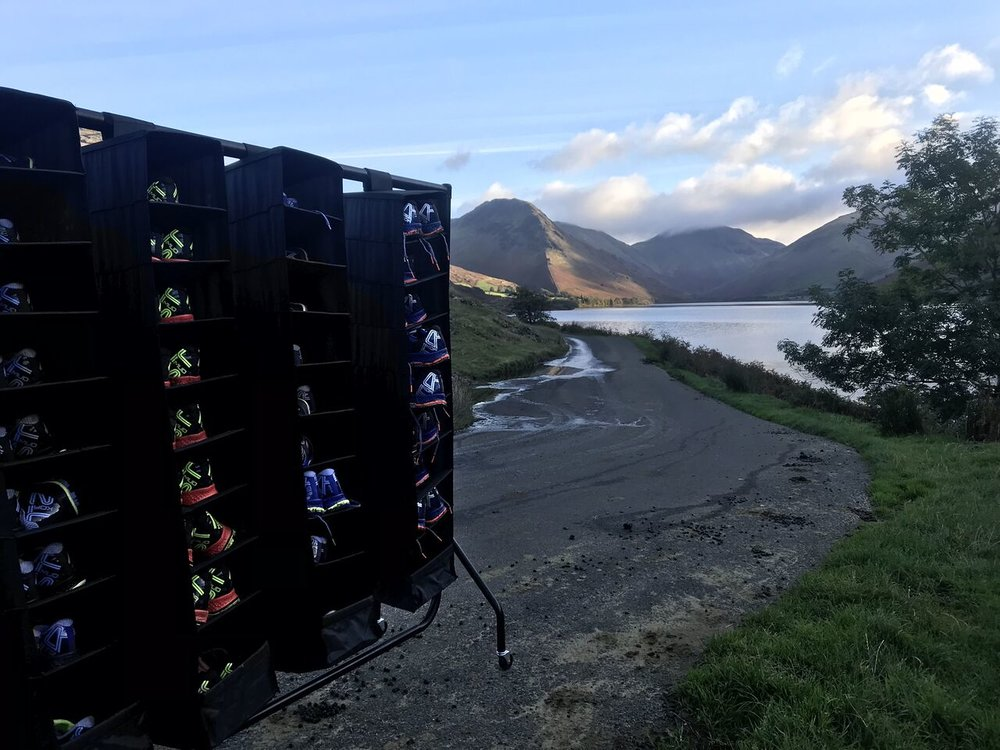 Wast Water in the Lake District (copyright: Saucony UK)