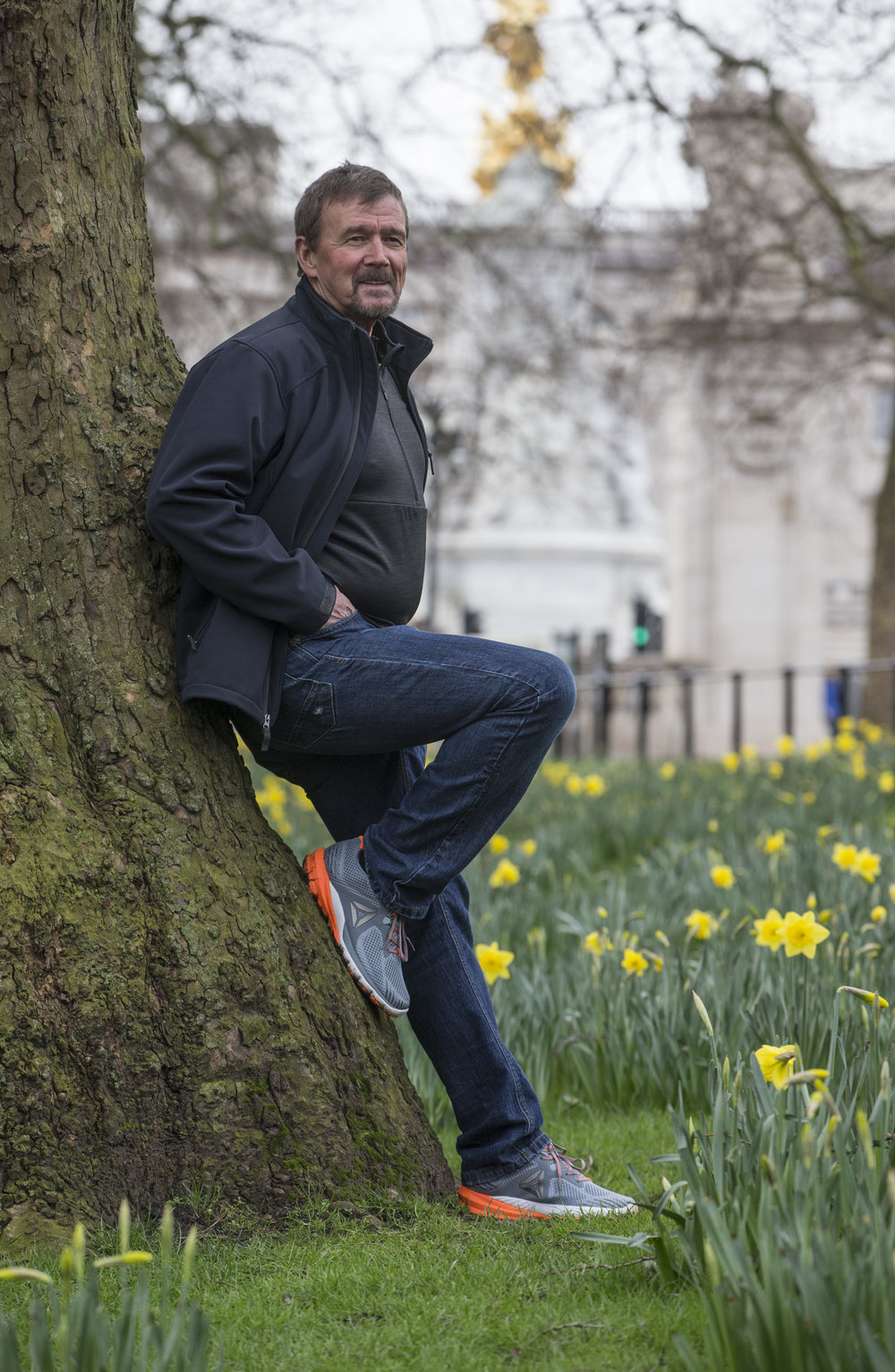 Steve Jones - former world record-holder for the marathon and now successful coach