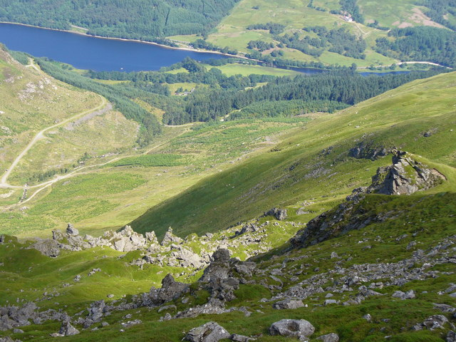 Colin Smith / Looking Down from Ben Ledi