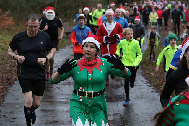 Several parkruns are available this Christmas Day (Pic credit: Decembermum on Flickr)