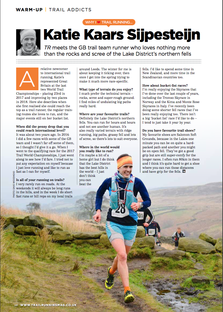 This article originally appeared in the February - March 2019 issue of Trail Running