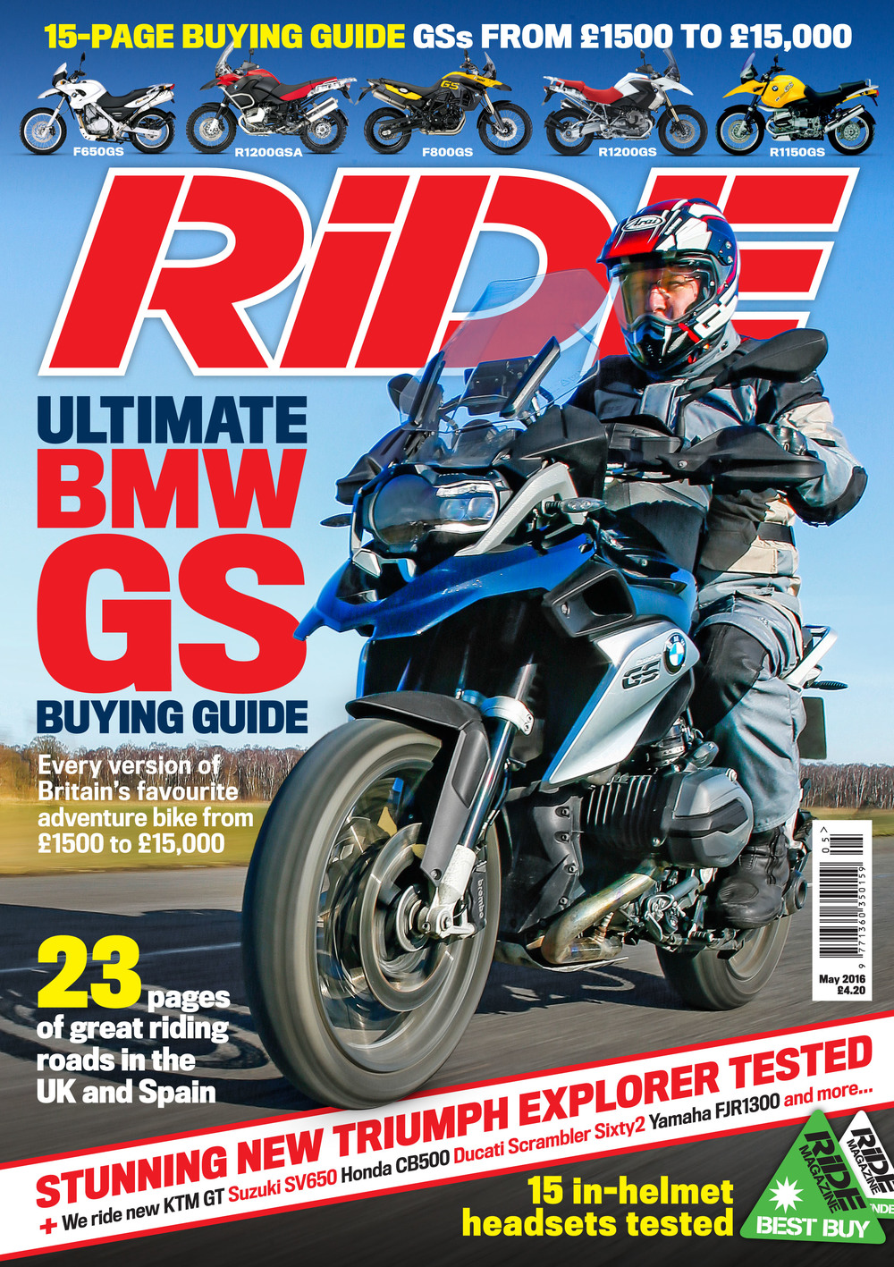 May 2016 issue of RiDE magazine is out now!