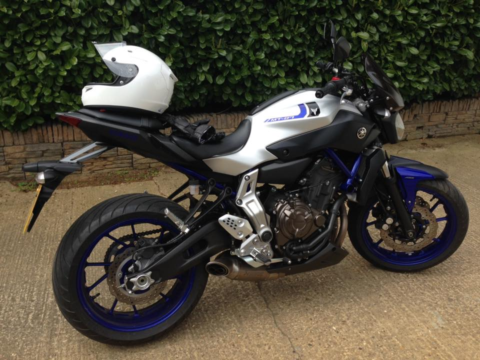 Yamaha MT-07 Race Blu
