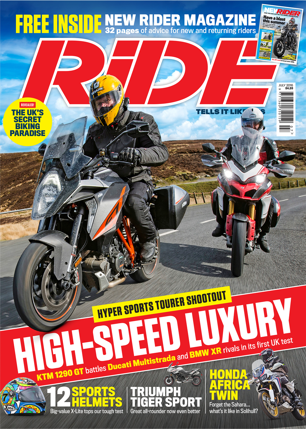 Order the July issue of RiDE and get free UK p&p