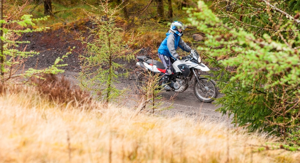 Mastering the art of riding motorcycles off road with BMW in Wales