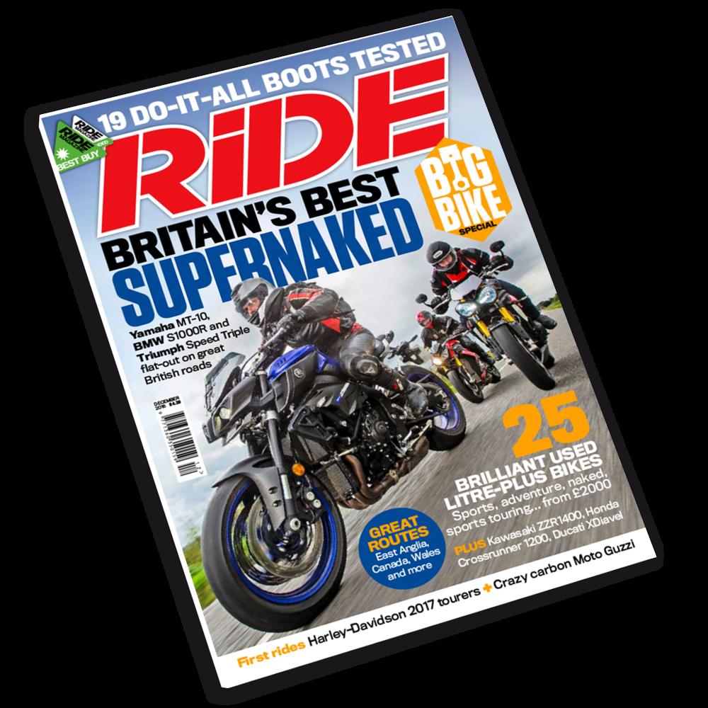 RiDE magazine November 2016