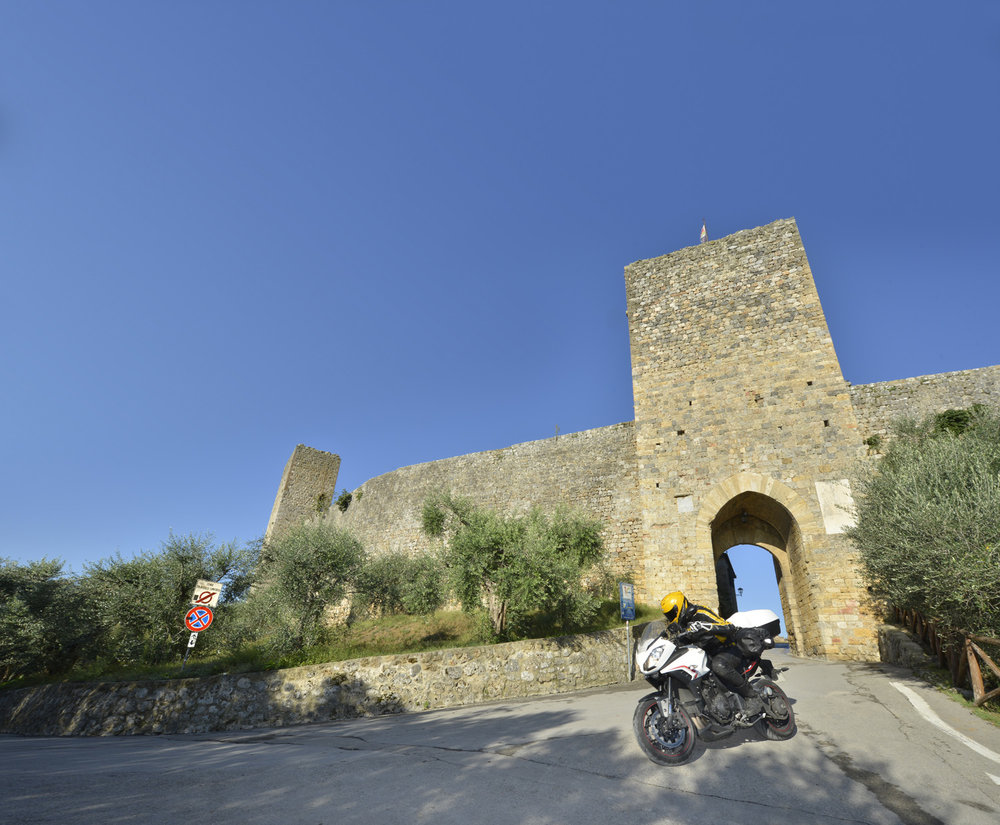 Tuscany is packed with fabulous historic villages and equally stunning roads