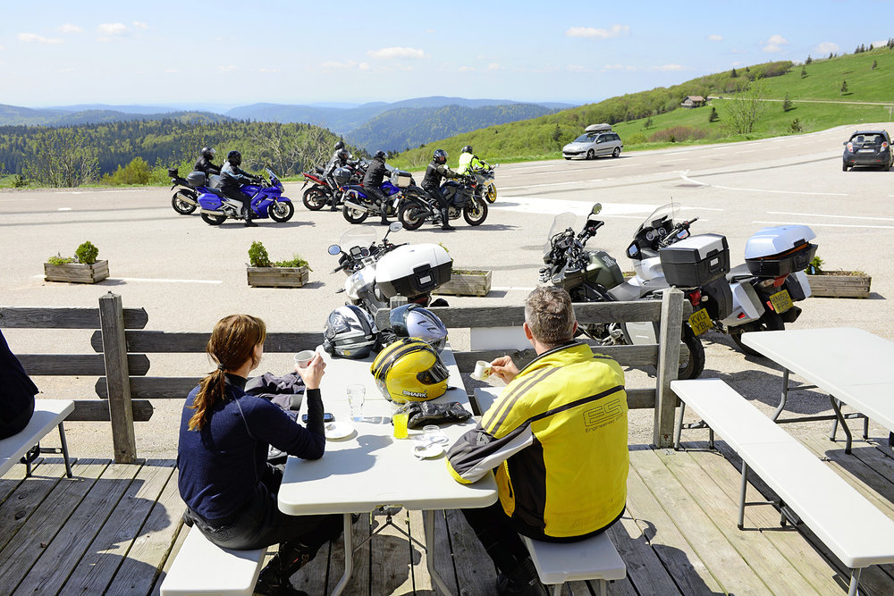 The Auberge du pied du Hohneck offers great coffee and better views