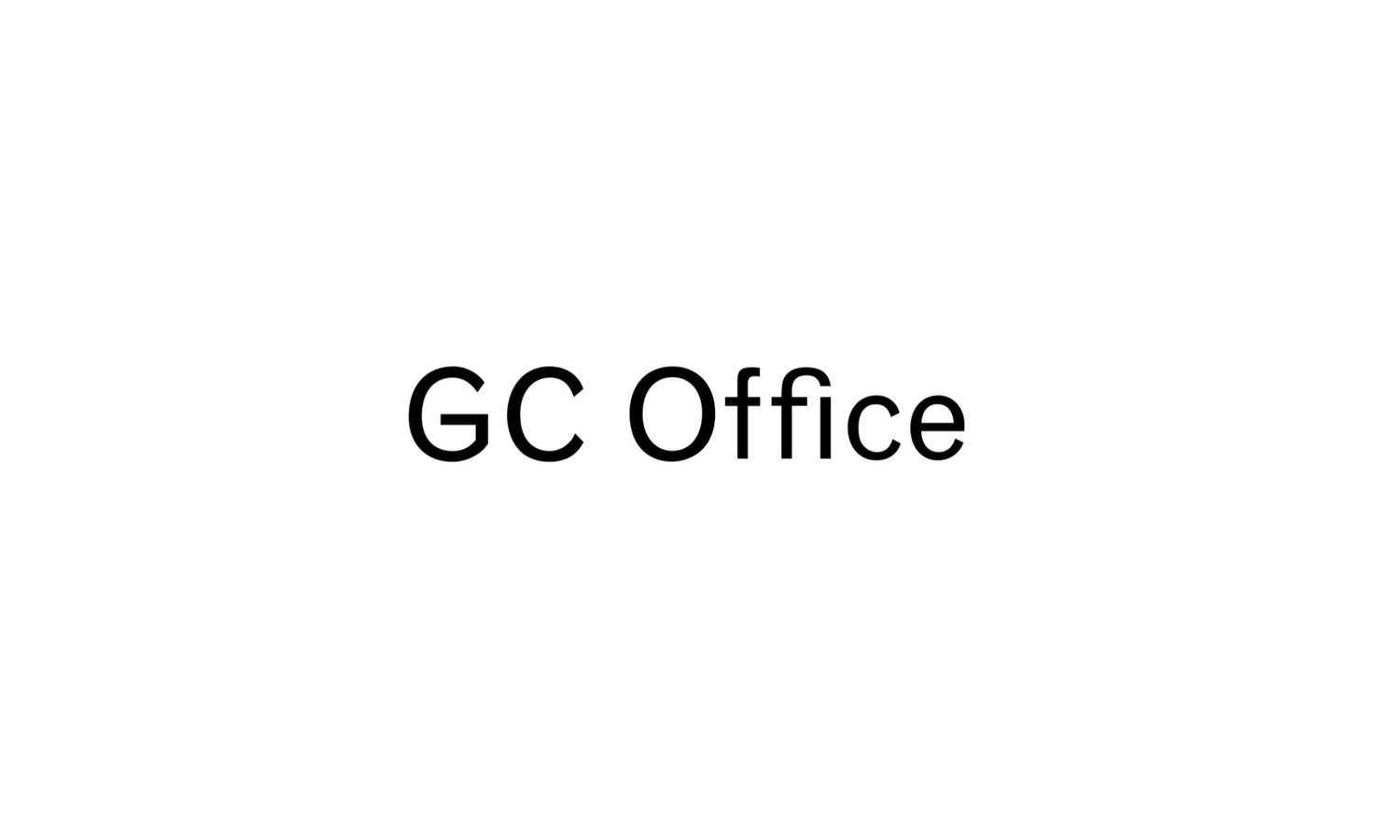 GC Office