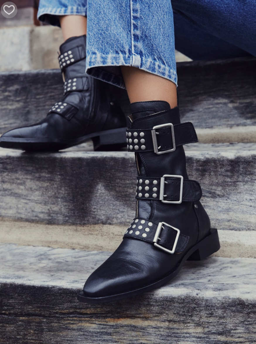 next level obsession with these   Free People Derringer Ankle Boots