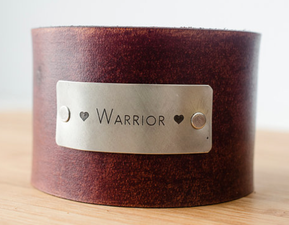 porter and hazel leather cuff