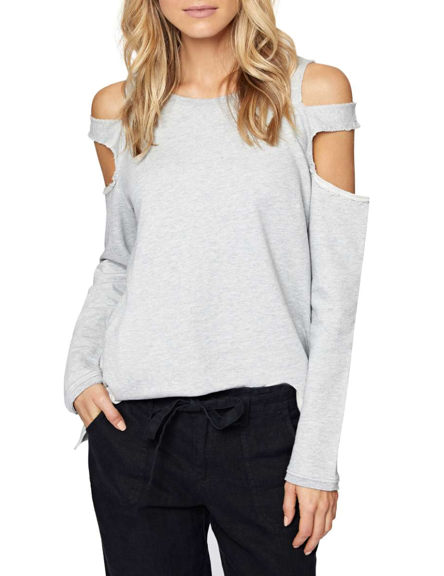 Park Slope Cold Shoulder Sweatshirt