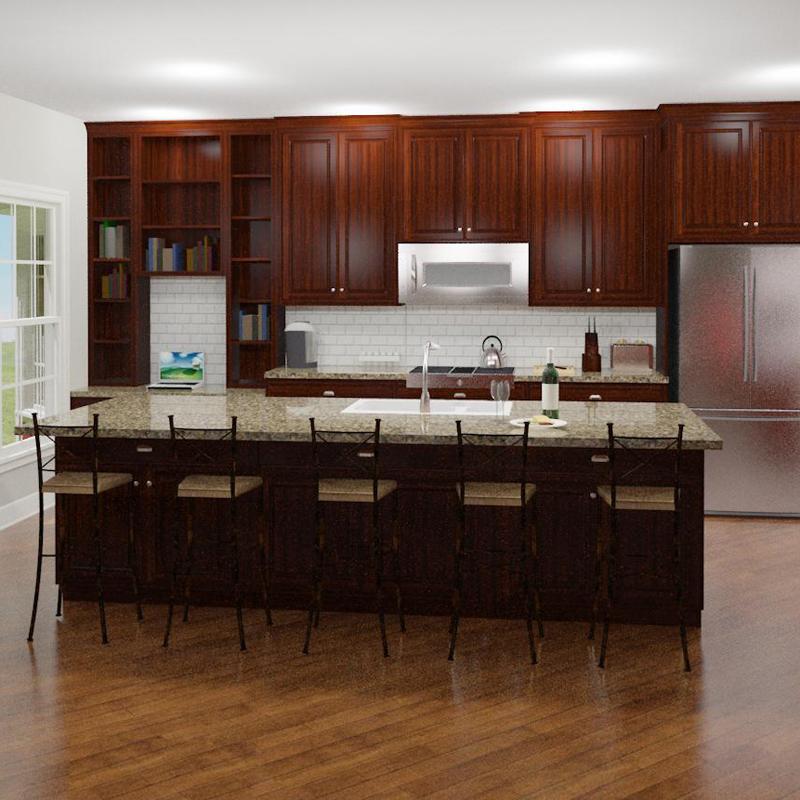 Kitchen Interior (3D design model)