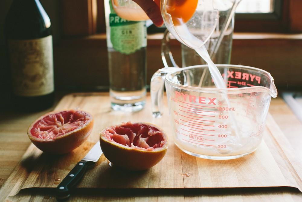 Grapefruit Negroni via @athoughtforfood