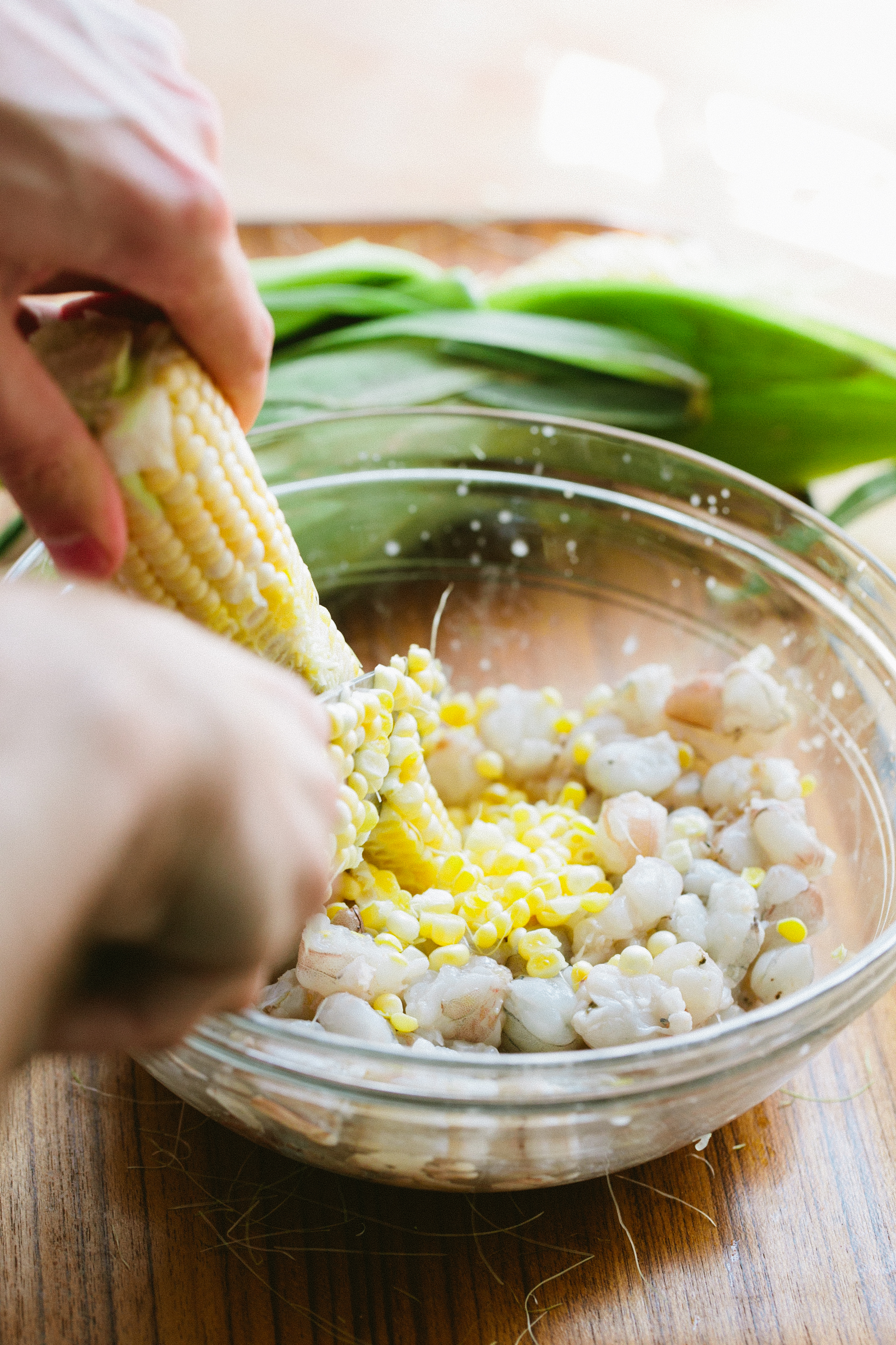 Shrimp + Sweet Corn Ceviche — A Thought For Food