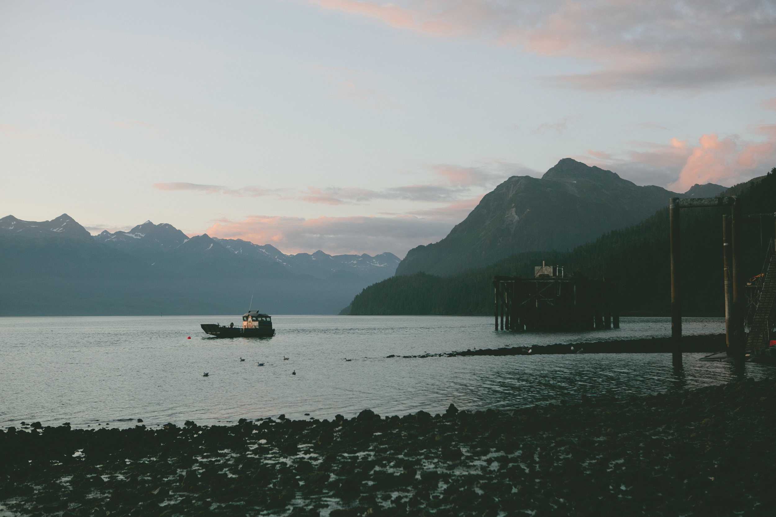 NELSON BAY - CORDOVA, ALASKA (PHOTOGRAPHS BY BRIAN SAMUELS - A THOUGHT FOR FOOD)