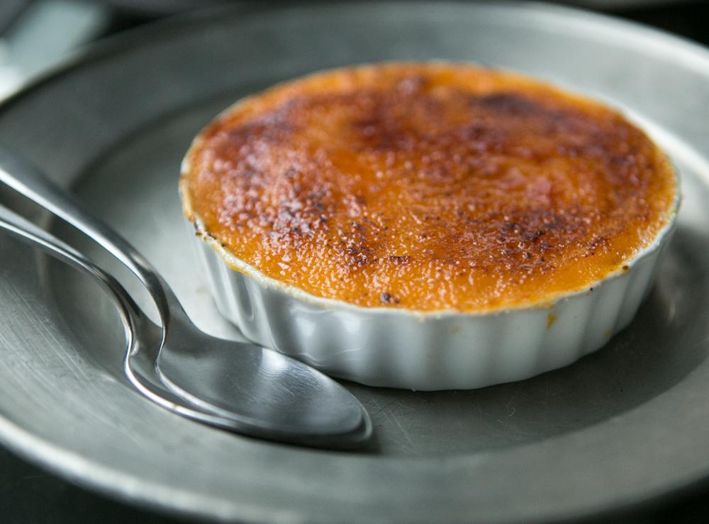 Sweet Potato Creme Brulee