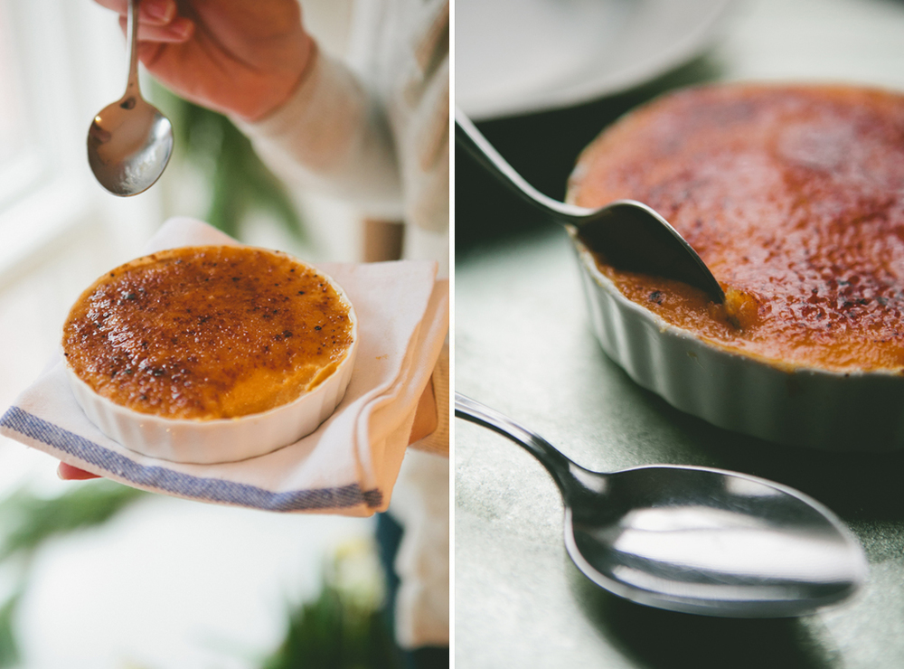 Sweet Potato Creme Brulee